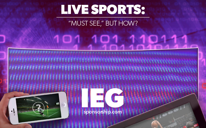Live Sports: Must See, But How?