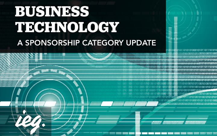 Business Technology: A Sponsorship Category Update
